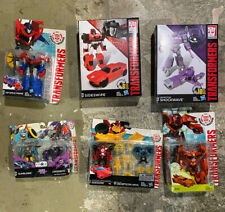 Transformers lot New In Box Shockwave Sideswipe Bumblebee Busk TRU Exclusive