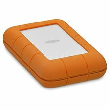 LaCie Rugged 4TB Thunderbolt USB-C Portable Hard Drive (STFS4000800)
