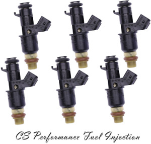 OEM Fuel Injectors (6) Set for 2003-2017 Acura Honda Vue 3.0 3.2 3.5 V6 W CODE