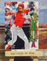"""2020 🎅 Topps Holiday Shohei Ohtani Rare SP Variation Mittens Angels """"72"""" #HW26❄"""