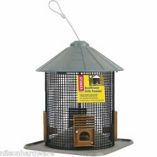 "2 Pk Sunflower 10.8"" L x 9"" Dia Hanging Crib Bird Seed Feeder 4.8 Qt Cap 38220"