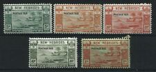 New Hebrides 1938 Postage Dues set unmounted mint NH
