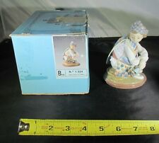 "Lovely Lladro #1524 "" Valencian Bouquet "" Retired-Repaired w/ Original Box"