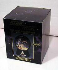 1994 Star Trek Klingon Ship Lighted Musical Star Globe