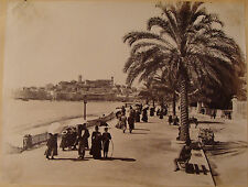CANNES. NICE. 10 PHOTOGRAPHIES. VERS 1890.
