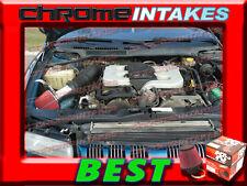 K&N+RED 93-04 DODGE INTREPID EAGLE CONCORDE 300M LHS 2.7/3.2/3.3/3.5L AIR INTAKE
