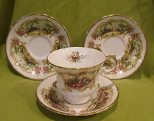 PARAGON CHIPPENDALE DESIGN COLLECTORS CUP & SAUCERS