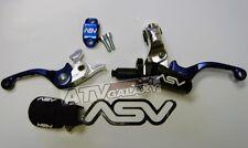 ASV Blue F3 Holiday SHORTY Pro Pack Clutch Brake Suzuki DRZ 400S 400SM  400E