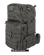 Tactical Black Molle 40L Assault Pack by Kombat UK - Backpack, Rucksack