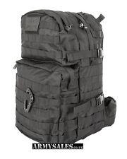 Tactical Black Molle 40L Assault Pack by Kombat UK - Backpack, Rucksack