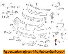 NISSAN OEM 13-15 Altima Front Bumper-Side Bracket Left 622213TA0A