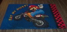 Nintendo MARIO KART LUIGI MARIO Wii Racing PILLOW CASE Pillowcase