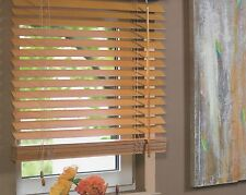 Holzjalousie Jalousie Holz Fenster Tür Rollo Echtholz Holzrollo Lamelle 25 mm