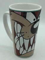 Gibson Warner Bros Looney Tunes Taz Tall Tazmanian Devil Coffee Mug Vintage 1998