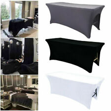 Spa Massage Bed Cover Sheet with 21inch Drop Skirt Beauty Salon Table Skirt