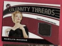 MARILYN MONROE WORN DRESS RELIC SWATCH CARD TOPPS PRISTINE CELEBRITY THREADS 05