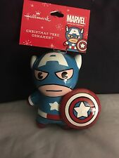 Hallmark Marvel Captain America Christmas Tree Ornament