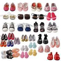 Handgemachte Mode Puppe Stiefel Schuhe Für 18 zoll Mädchen Puppe Spielzeug H7O8