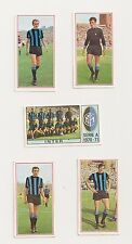 INTER FC  05 FIUGURINE SERIE PANINI MODENA CARTONATE 1970-1971
