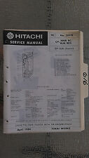 Hitachi cp-200 r rc ruk rex service manual original repair book stereo tape deck