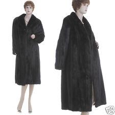 ON SALE! Mint! Elegant & Luxury Dark Mahogany Female Mink Fur Coat