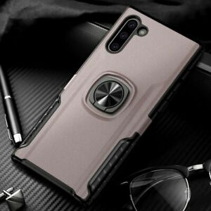 Shockproof Ring Case For Samsung Note 10 Plus + S10 S9 S8 S10E Stand Holder Back