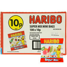 HARIBO SWEETS SUPERMIX MINI PACKS - Wholesale Box 100 Bags FREE DELIVERY! £9.98