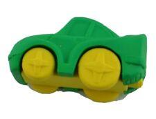 Ja Eraser Car Vehicle Green Yellow Unused