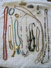 Lot of Vintage and Other Costume Jewelry Includes Monet, Anne Klein, unsigned