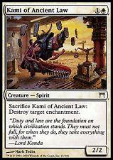 Kami of Ancient Law X4 EX/NM Champions Of Kamigawa MTG Magic Cards White Common