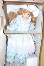 Mint $125 Gorham Limited Edition 142/2500 Irene Porcelain Musical Doll COA Box
