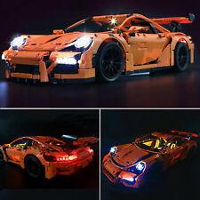LED Light Kit ONLY For Lego 42056 Porsche 911 GT3 RS Technic Lighting Bricks