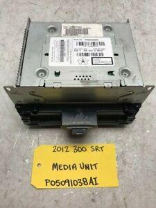 12 CHRYSLER 300 SRT SRT-8 OEM NAVIGATION CD DVD RADIO HEAD UNIT RB5 P05091038AI