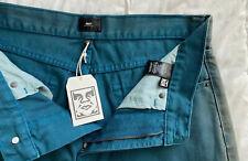 Men's Obey Worldwide Green Jeans Size 32