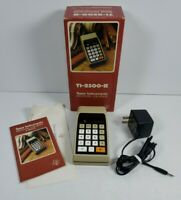 (NON-WORKING) Vintage Texas Instruments TI-2500 II Electronic Calculator w/Box