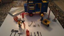 3760 PLAYMOBIL CHANTIER : Roulotte de chantier