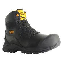 Magnum Barcelona 6.0 Waterproof Safety Composite Black Leather Work Boots UK6-13