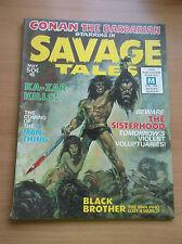 SAVAGE TALES #1, ORIGIN & 1ST APP. OF MAN THING, KEY BOOK, 1971, VG+ (4.5)!!!