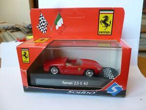1:43 Solido Ferrari 2,5 L Dino 246 SP, 1er Nürburgring 1962