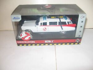 """Jada Toys~""""Ghostbusters"""" ECTO-1""""~Hollywood Rides~1:32~Die-Cast~2019~Brand New!"""