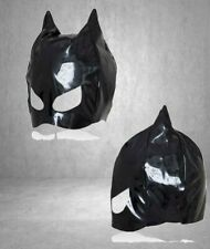 maschera nero gatto black mask fetish per donna integrale sexy bondage fetish