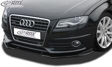 Audi A4 B8 S-line - Front splitter Vario Diffuser PUR Plastic pre facelift