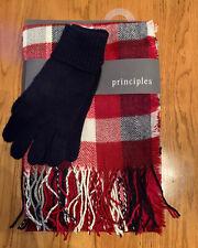 Principles 2 Piece Scarf & Gloves Set