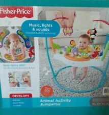 Fisher- Color Climbers Jumperoo Activity Jumper for Baby