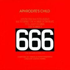 Aphrodites Child - 666 NEW CD