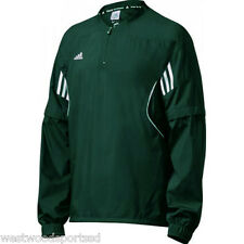 ADIDAS CONVERTIBLE HOT JACKET (MEDIUM FOREST) NEW BASEBALL BATTING