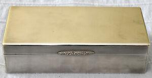Antique Art Deco Tiffany & Co Sterling Silver Jewelry Box