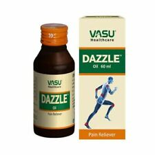 VASU Dazzle Oil 60 ml Absorbed deeper in to skin and provide fast Pain Relief