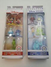 Disney Pixar Nano Metalfigs Set A&B 10 Figures New in boxes