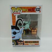 Funko Pop Dragon Ball Z DBZ King Kai & and Bubbles 532 Vinyl Figure #2